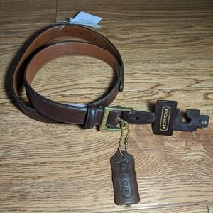 Authentic vintage coach belt